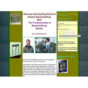 Compare the fundamentals of blacksmithing, ebook in pdf format