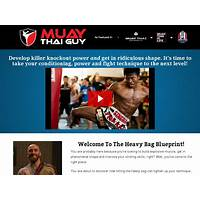 Best the heavy bag blueprint muay thai course