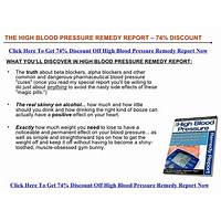 The high blood pressure remedy report new 1 click upsell! programs