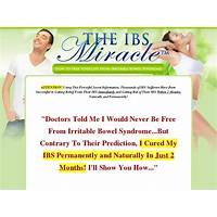 What is the best the ibs miracle (tm) with free 3 months consultations?