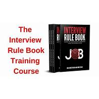 Free tutorial the interview rule book training course