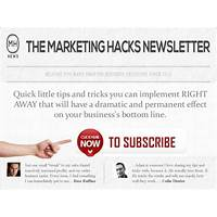 Best reviews of the marketing hacks newsletter