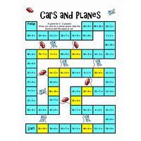 The math board games book printable math games compare