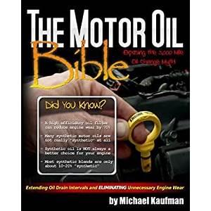 The motor oil bible ebook is bullshit?