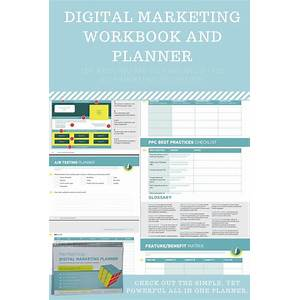The practical digital marketing planner and workbook scam?