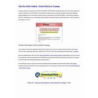 The pure pitch method perfect pitch ear training is it real?