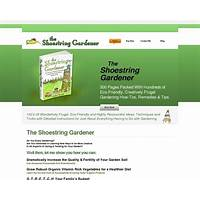 The shoestring gardener frugal eco friendly gardening tutorial online tutorial
