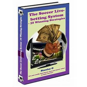 The soccer livebetting system 10 winning strategies immediately