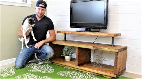 The super easy tv stand diy project Image