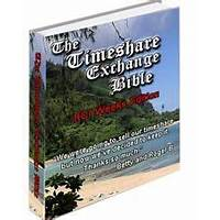 The timeshare exchange bible rci weeks edition programs