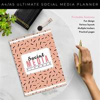 Free tutorial the ultimate social media planner