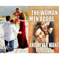 The woman men adore and never want to leave scam?