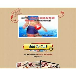 Free tutorial the x factor diet system the secret to losing unwanted weight fast and keeping it off