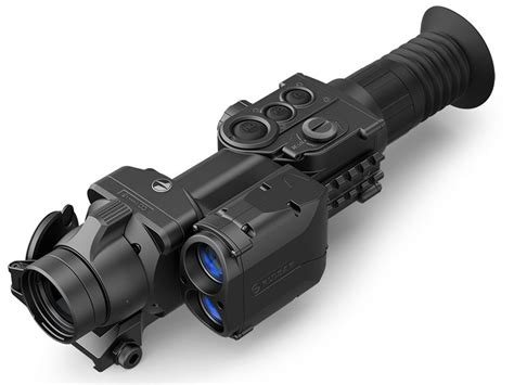 Thermal Rifle Scope With Range Finder