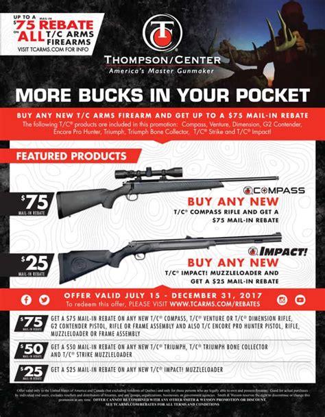 Thompson Center Arms Rebate