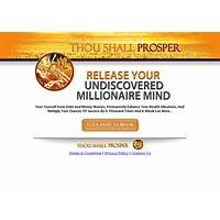 Guide to thou shall prosper: we work hard to have it convert