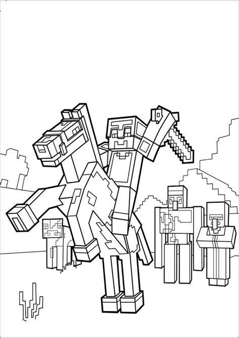Tier Malvorlagen Minecraft