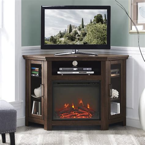 "Tieton TV Stand for TVs up to 50"" with Fireplace"