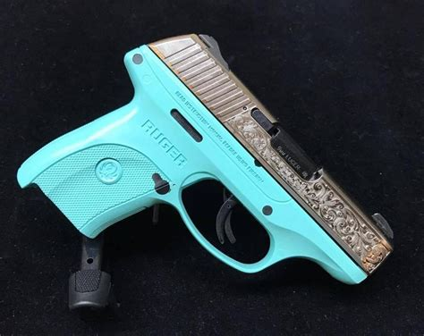 Tiffany Blue Ruger 9mm