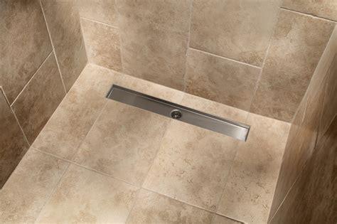 Tile Insert Linear Grid Shower Drain