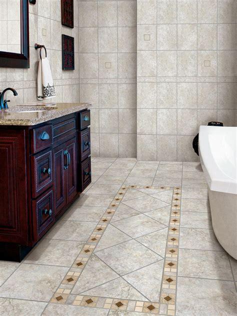 Tiles for bathroom floor Image