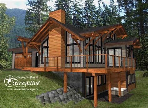 Timber cabin plans Image