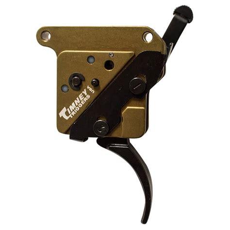 Timney Elite Hunter Remington 700 Triggers Remington 700 Trigger Right Hand Straight Nickel Plated