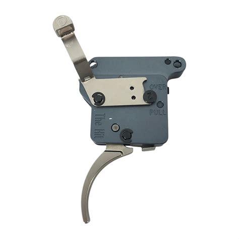 Timney Remington 700 Hit Triggers Remington 700 Left Hand Trigger Nickel Plated 8oz