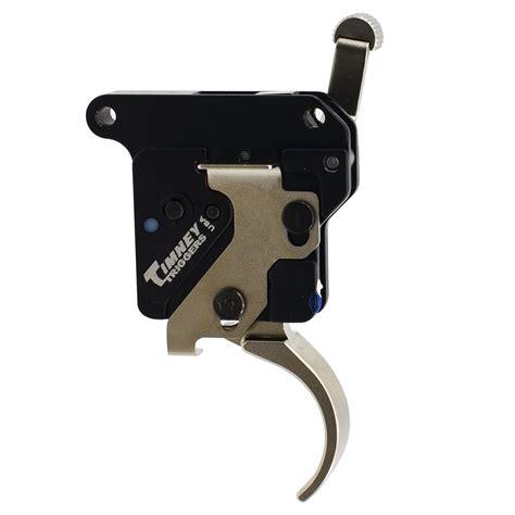 Timney Remington Model 7 Triggers Wsafety Rem Model 7 Trigger Wsafety Nickle Plated