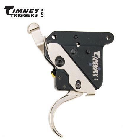 Timney Remington Model 700 Trigger W Safety Nickel MGW