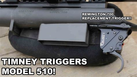 Timney Triggers Model 510 Remington 700 Replacement