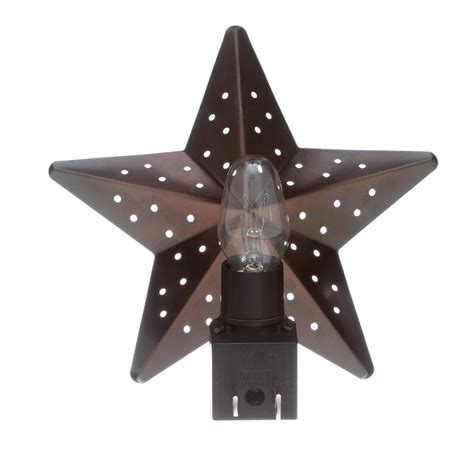 Tin Star Incandescent Night Light