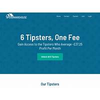 Buy tipster warehouse multiple tipsters one fee