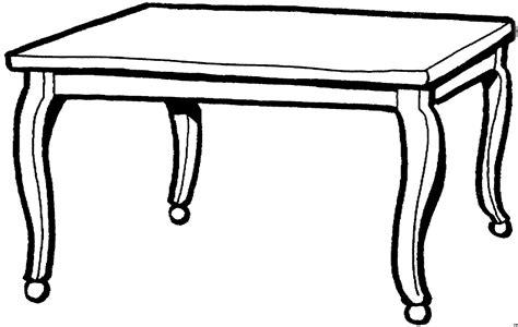 Tisch Malvorlage