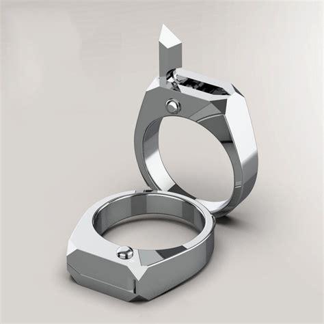 Titanium Self Defense Ring