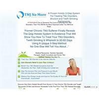 Tmj no more (tm): $45 sale* top tmj, bruxism & teeth grinding cure! cheap