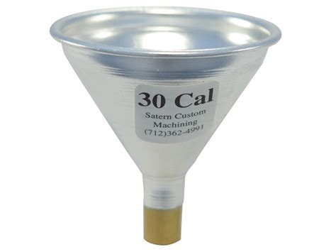 To Funnel Aluminum Funnels Satern 50 Cailber 30 Powder