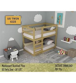 Toddler Bed Bunk Bed Plans