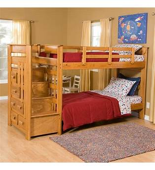 Toddler Bunk Bed Plans With Stairs