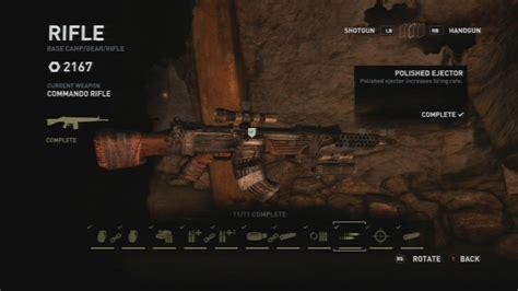 Tomb Raider Assault Rifle Parts Locations