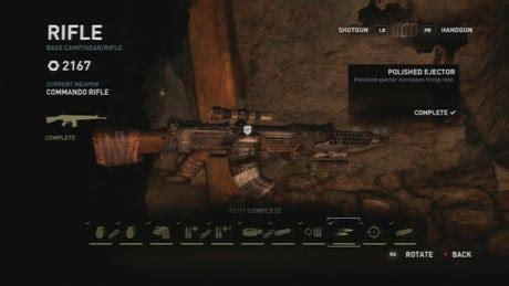 Tomb Raider Definitive Edition Assault Rifle