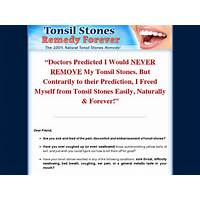 Tonsil stones remedy forever brand new with a 11 2% conversion rate! free tutorials