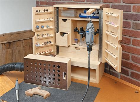 Tool cabinet woodworking plans Image