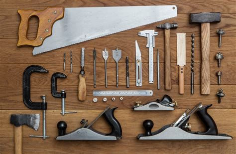 Tools for woodshop Image