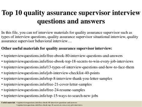 Quality Assurance Specialist Resume