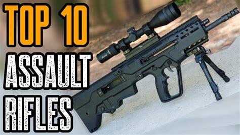 Top 20 Assault Rifles