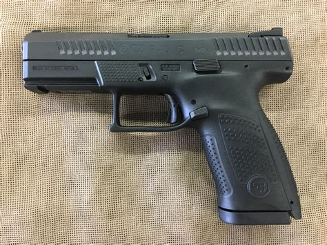 Top P10 Cmpct 9mm Black 4 15 1 Cz Usa