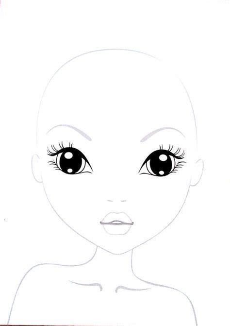 Topmodel Malvorlagen Gesicht