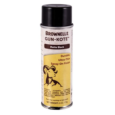 Tops Review Gunkote Oven Cure Gun Finish Brownells