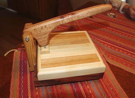 Tortilla press woodworking plans Image